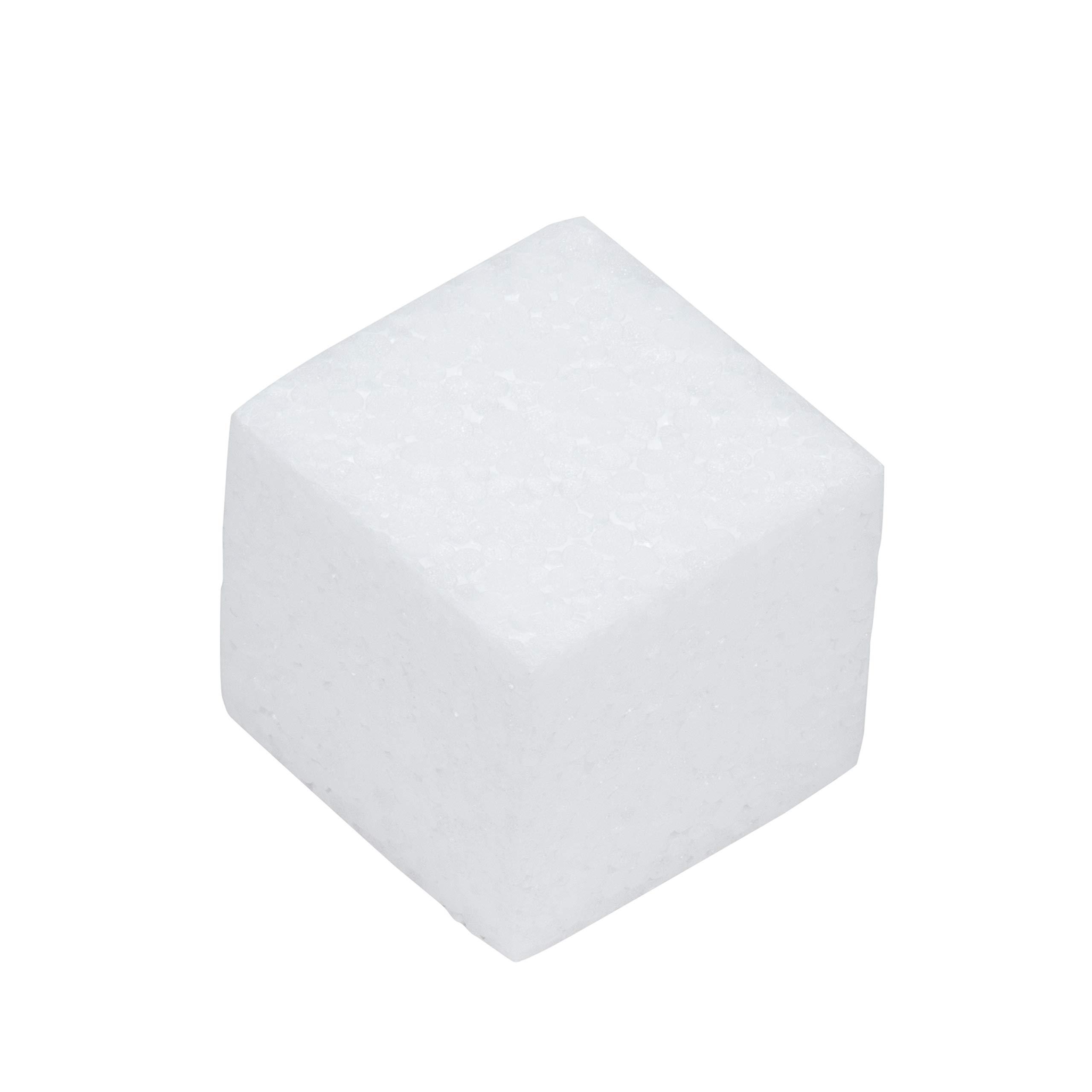 Craft Foam Blocks - 36-Piece Polystyrene Foam Blocks for Crafts and Modeling, 2 x 2 x 2 Inches Blank Craft Foam by Genie Crafts (Image #4)