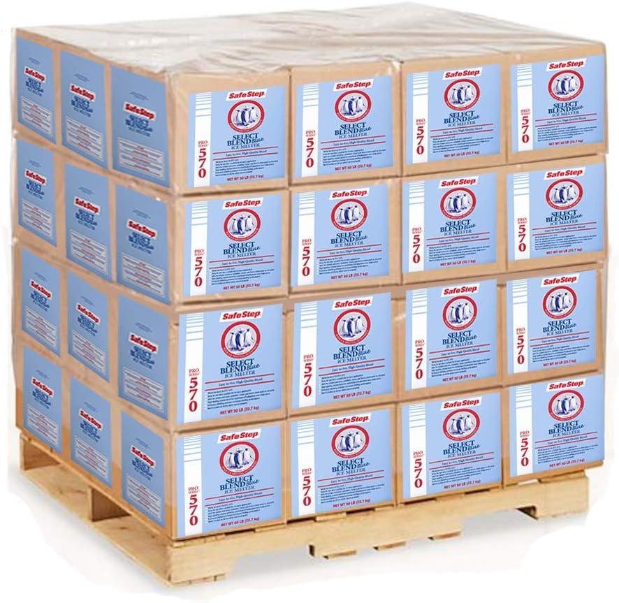 Safe Step Ice Melt | Pro Series 570 | Caja de 50 Libras | 48 Cajas: Amazon.es: Jardín