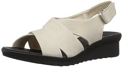871eacb7c046 Amazon.com  CLARKS Women s Caddell Petal Sandal  Shoes