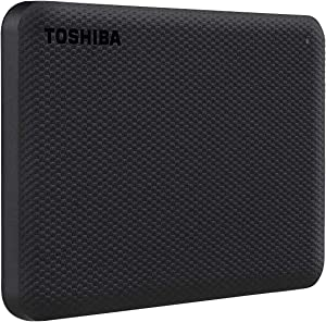 Toshiba Canvio Advance 2TB Portable External Hard Drive USB 3.0, Black - HDTCA20XK3AA