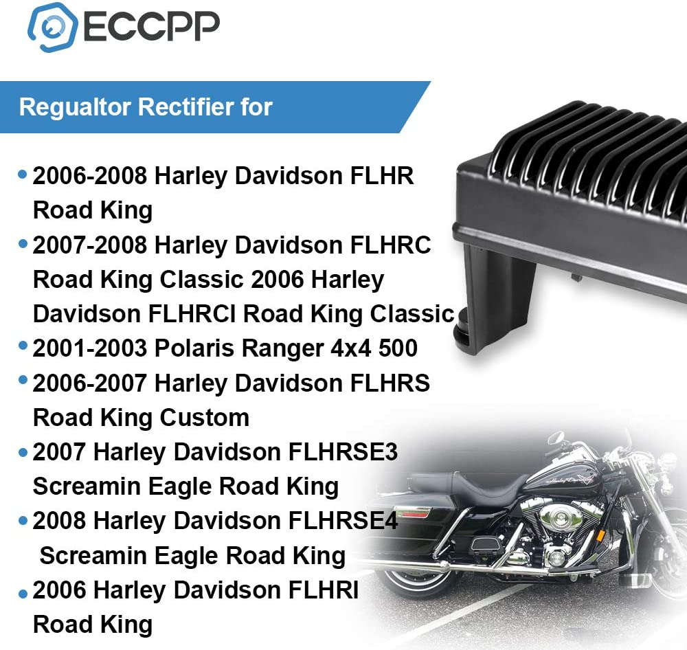 Regulator Rectifier for Harley Electra Glide Road King 06-08 74505-06 498269 NEW