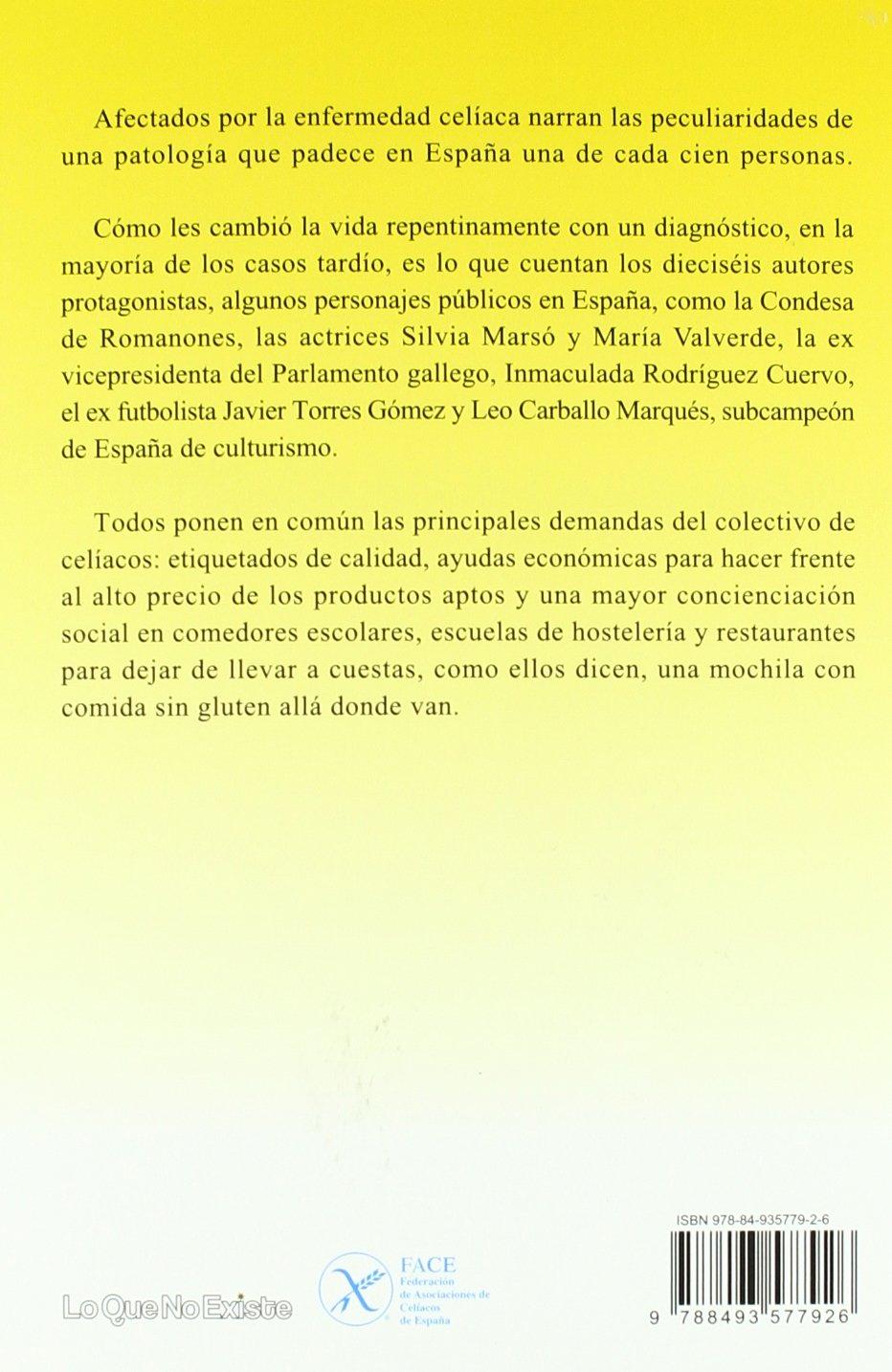 Celíacos famosos : incluye recetas de Sergi Arola sin glúten: Varios autores: 9788493577926: Amazon.com: Books