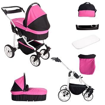 Luftbereifung Lieferbar in 11 Farben Kinderwagen 3 in 1 Extras Babyschale