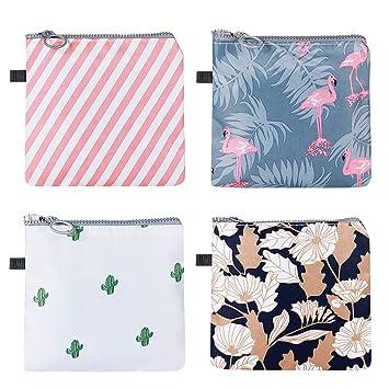 SUPVOX Bolsa de toallas sanitarias de 4 piezas tampones de ...