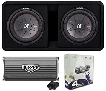 kicker sub wiring kicker image wiring diagram amazon com kicker 43dcwr122 12 2000w car subwoofers subs box on kicker sub wiring