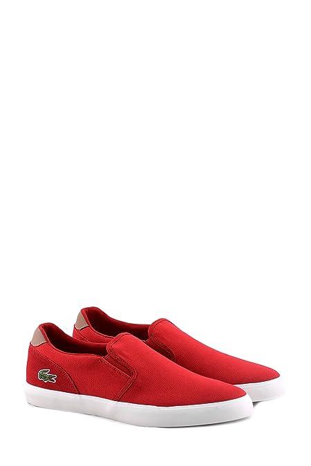 Comprar Su Favorito Mejor Tienda En Línea Para Obtener Slip on sneakers senza stringhe uomo Lacoste rossa Jouer 32CAM0088 047 Barato Último Tienda De Venta De Liquidación VwtTvB