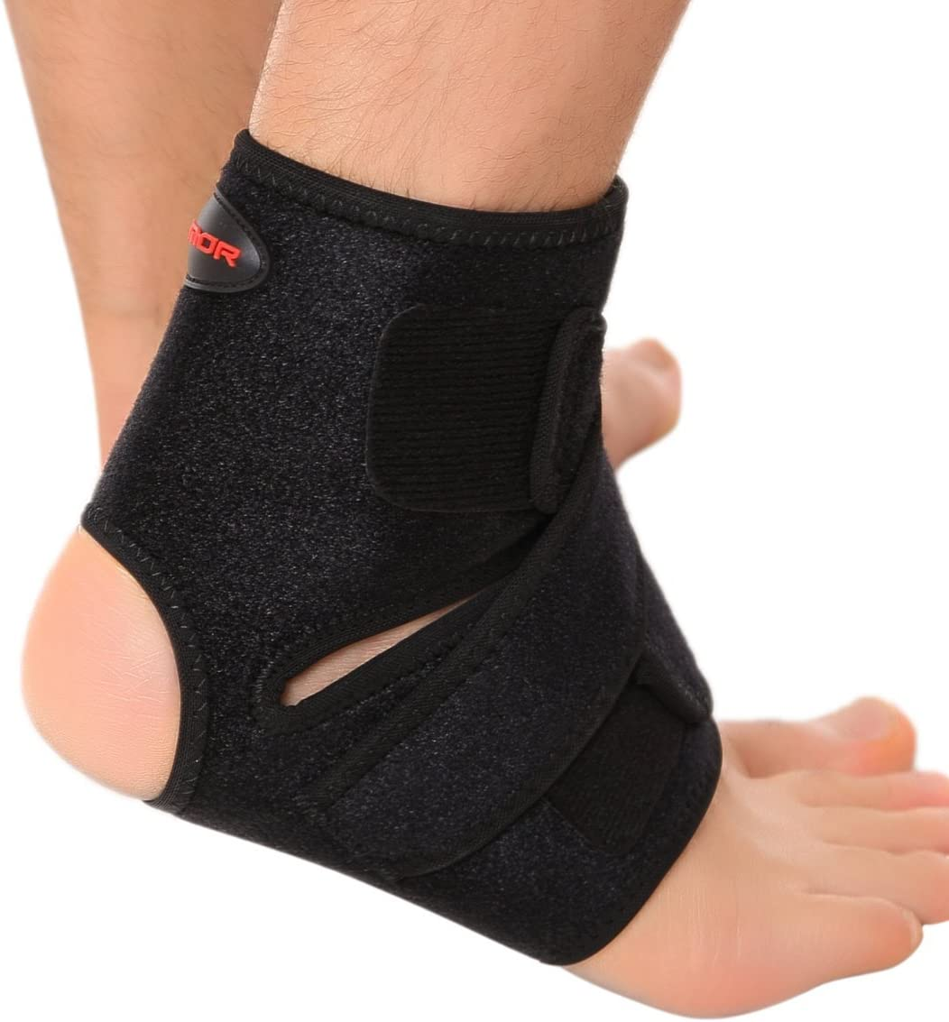 #2 Liomor Ankle Support Breathable Ankle Brace for Basketball Running Ankle Sprain