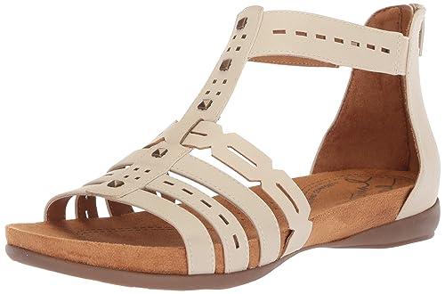 28c46f91bd57 NATURAL SOUL Women s Antigua Flat Sandal  Amazon.co.uk  Shoes   Bags