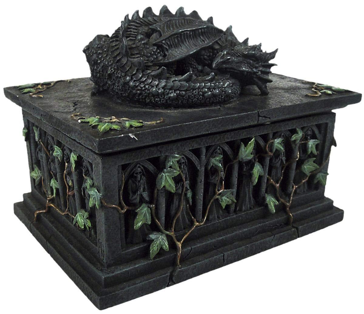 Caja con dragón