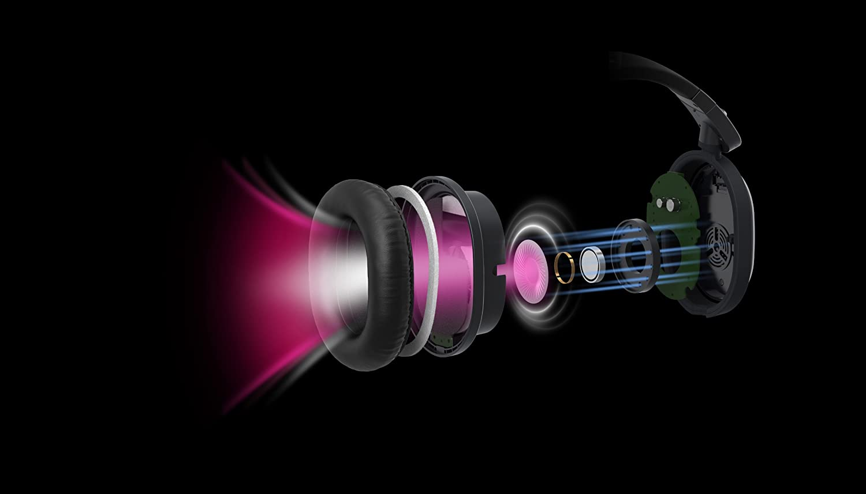 Panasonic RP-HC800E-K High End Noise Cancelling Headphones Gloss Black