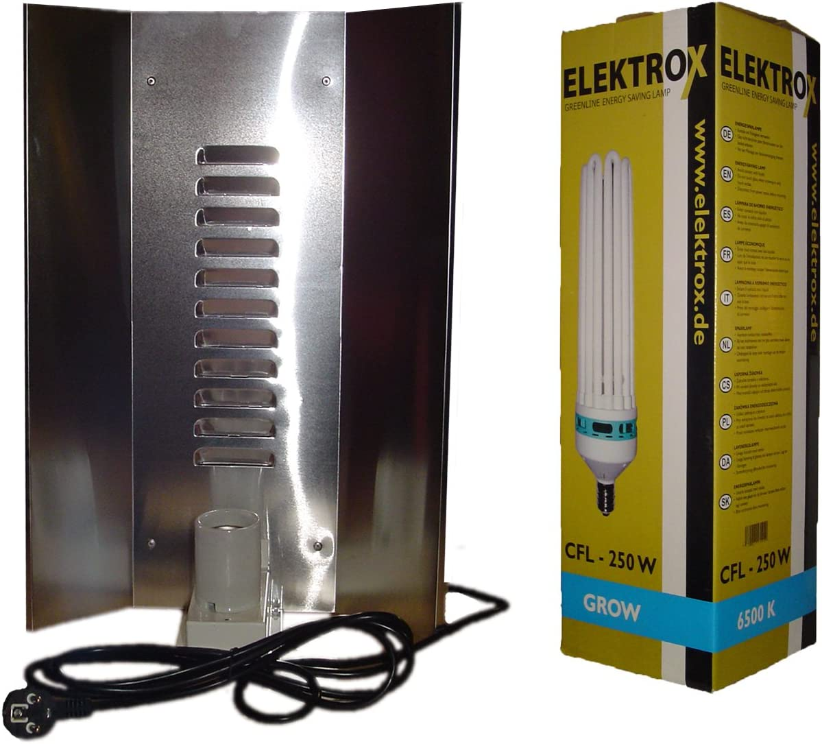 250W Beleuchtung Komplettset Blüte /& Wachstum Grow NDL MH 250 Watt Set