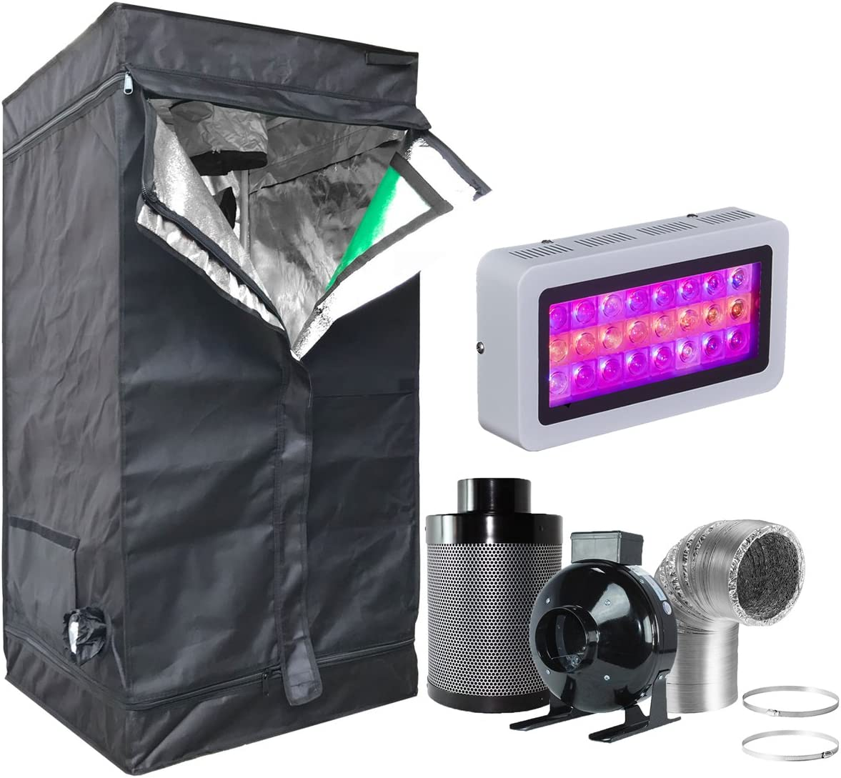 Combo for Hydroponic Indoor Plant Growing System