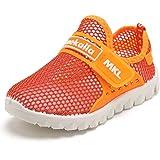 CIOR Boys Girls Breathable Lightweight Sneakers Antislip Shoes For Running Walking Toddler/Little Kid/Big Kid SC176 Blue 38 GRaHX