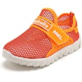 CIOR Boys Girls Breathable Lightweight Sneakers Antislip Shoes For Running Walking Toddler/Little Kid/Big Kid SC176 Blue 38