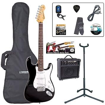 Guitarra de Trajes - Negro brillante