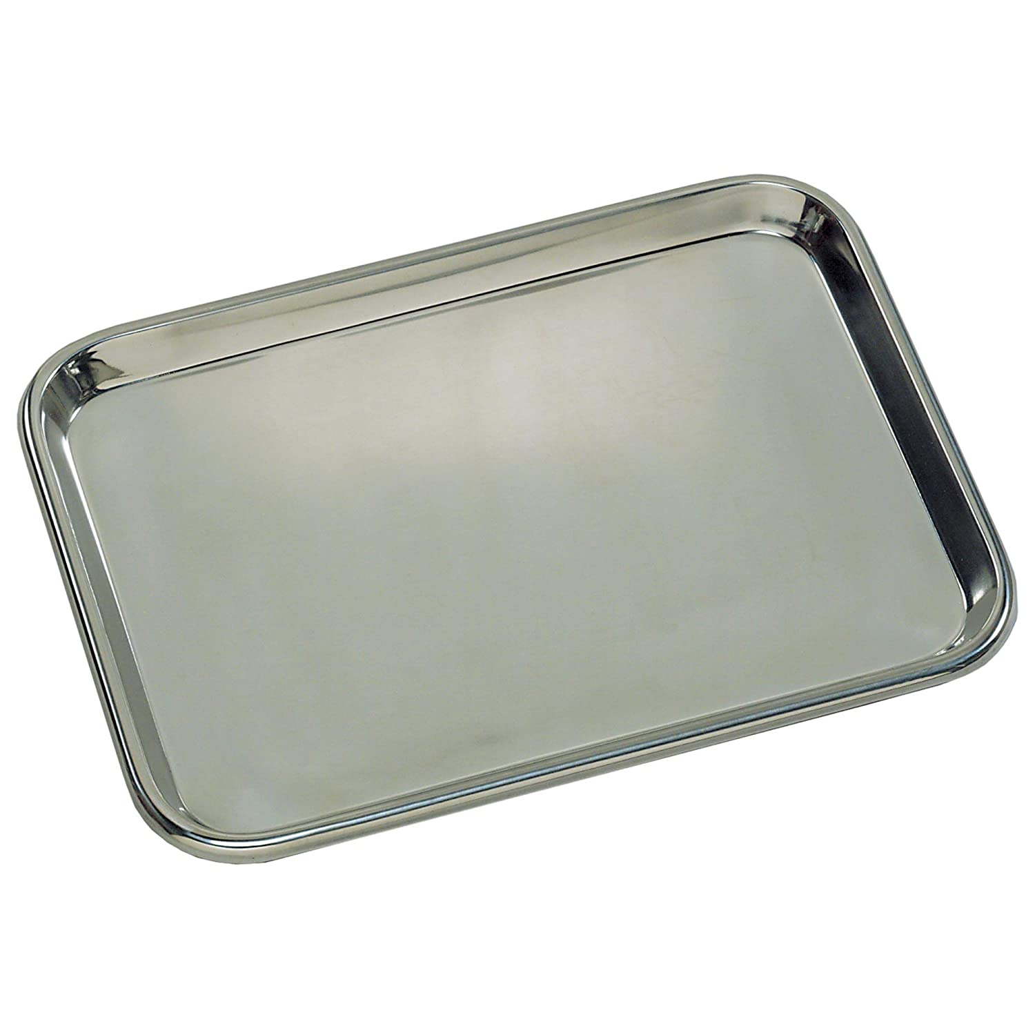 Graham-Field Grafco 3264 Flat Type Instrument Tray, Stainless Steel, 19