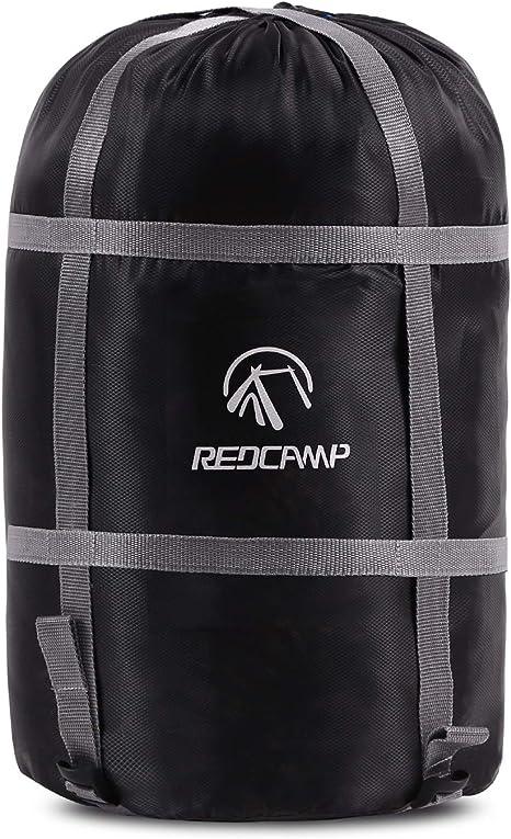 Amazon.com: REDCAMP Saco de dormir de compresión, negro, M ...