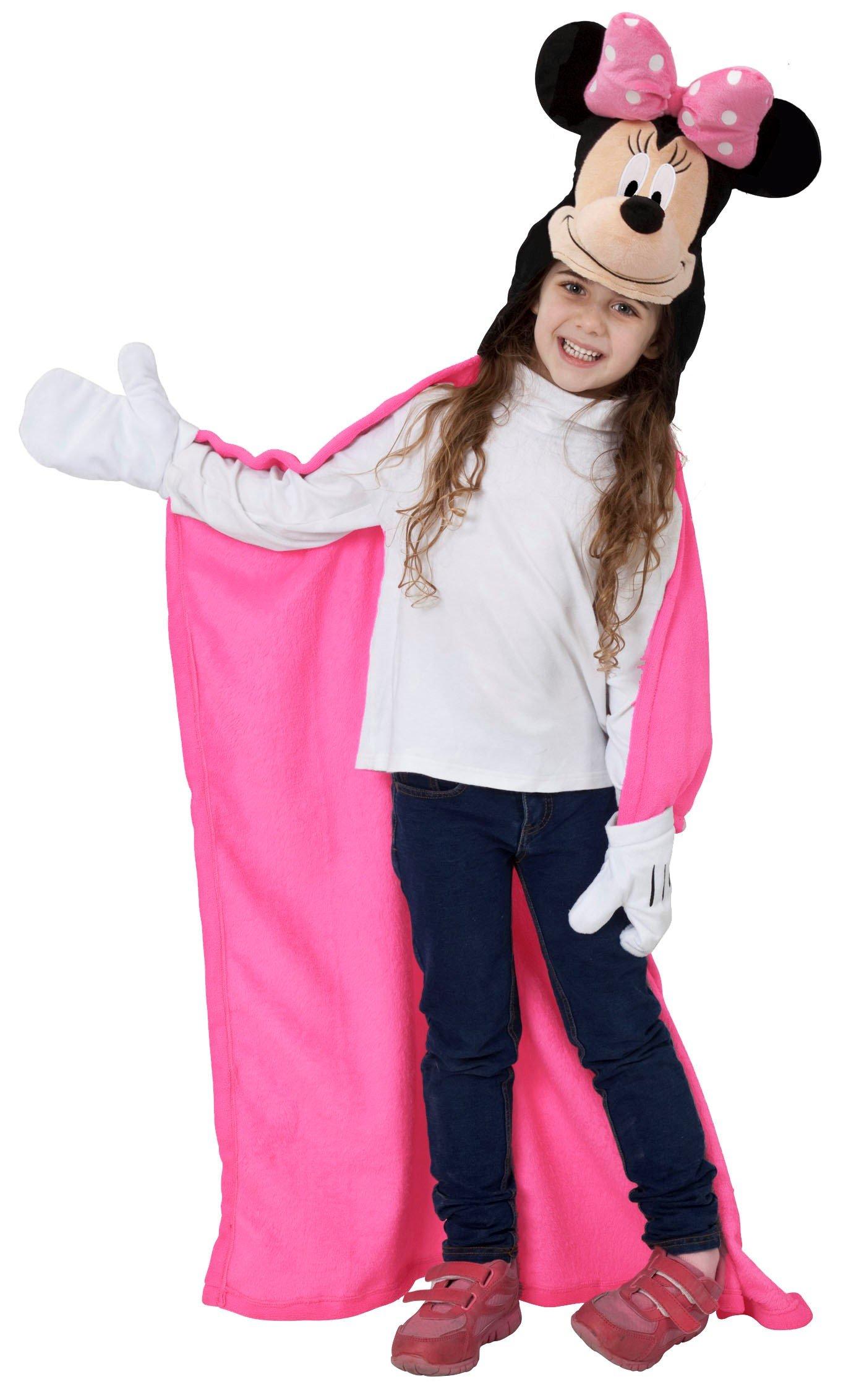Disney Minnie Hoodie Throw Blanket
