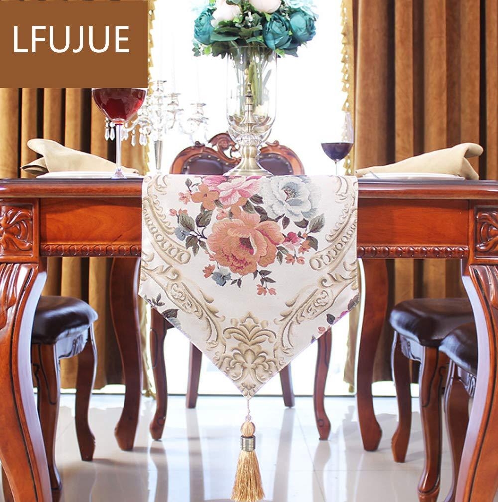 Amazon.com: LFUJUE - Patrón de flores de poliéster lavable ...