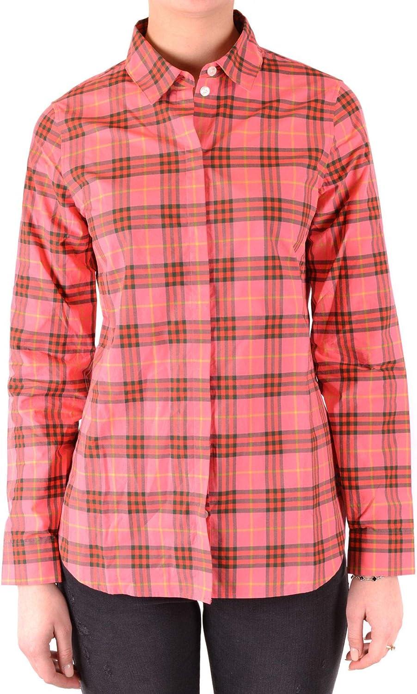 BURBERRY Luxury Fashion Mujer MCBI37771 Rosa Camisa | Temporada Outlet: Amazon.es: Ropa y accesorios