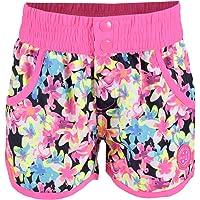 Maui And Sons Salida de Baño para Niña, Tipo Shorts en Color Rosa con Estampado Flores.