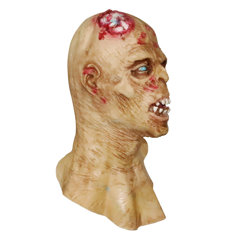 molezu Máscara de Horror Zombie, Máscara de Látex bioquímico Monstruo para Disfraz Fiesta Halloween: Amazon.es: Productos para mascotas