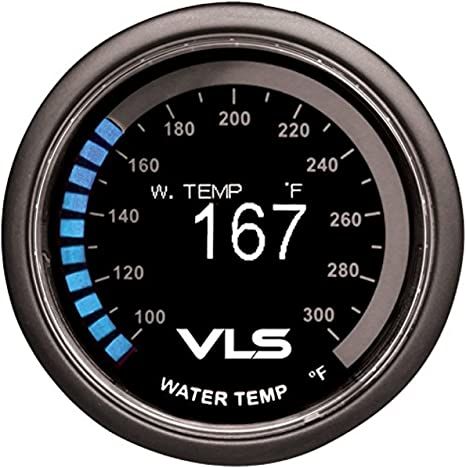 Revel 1TR1AA002R Gauge VLS 52mm 100-300 Deg F Digital OLED Water Temperature