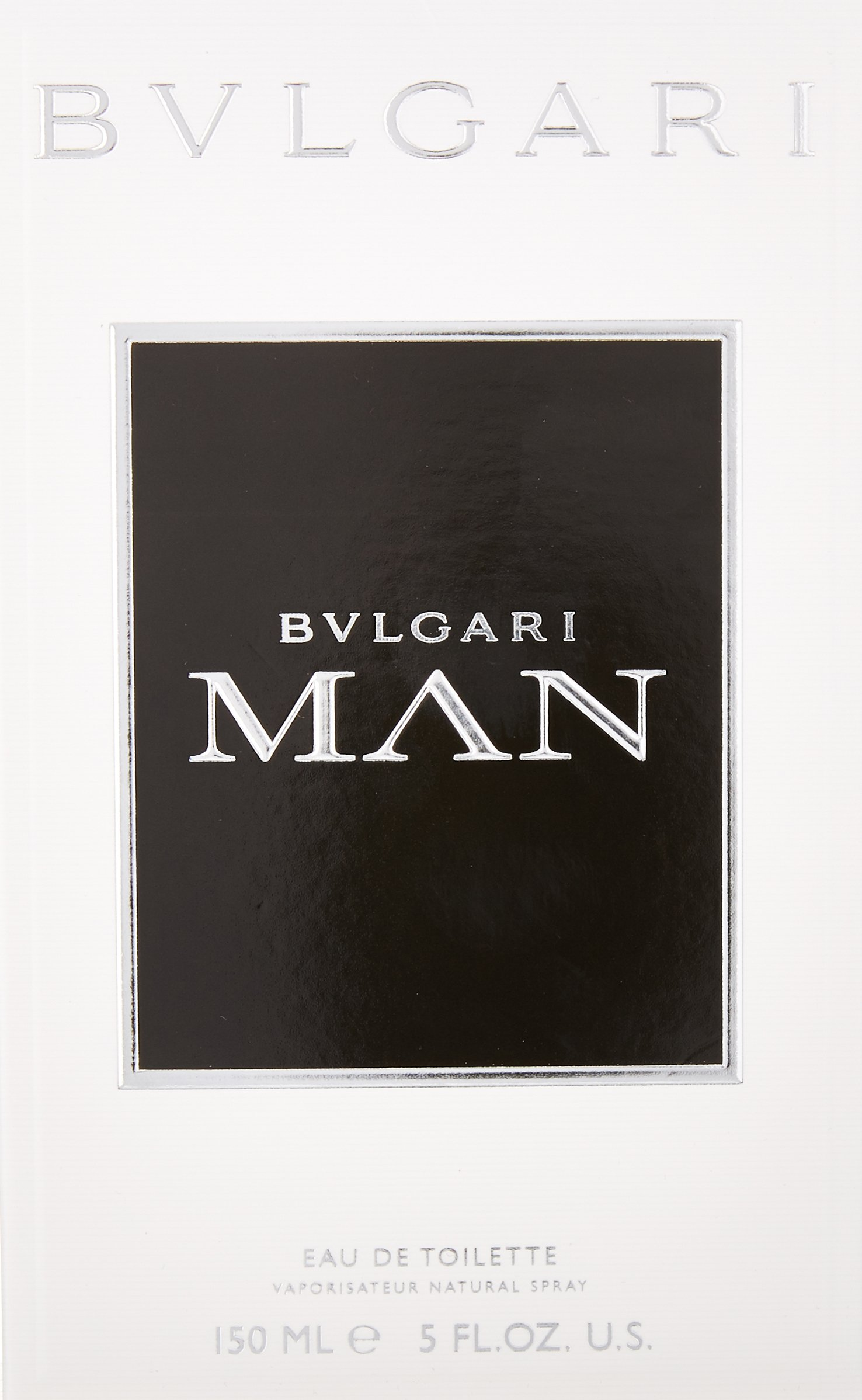 Bvlgari Man Eau de Toilette Spray for Men, 5 Ounce