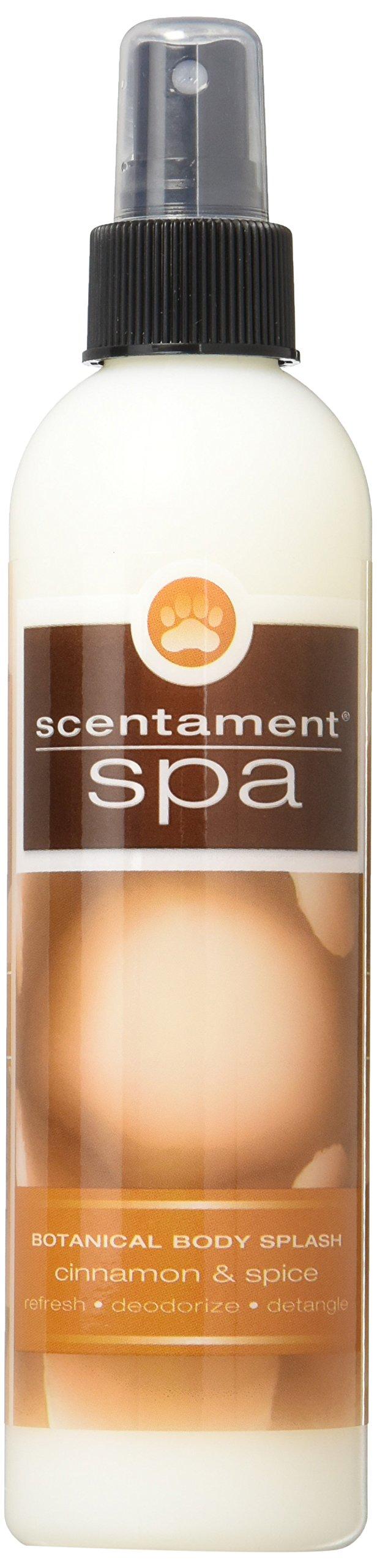 Best Shot Pet Scentament Spa Cinnamon Spice Body Splash Spray, 8 oz