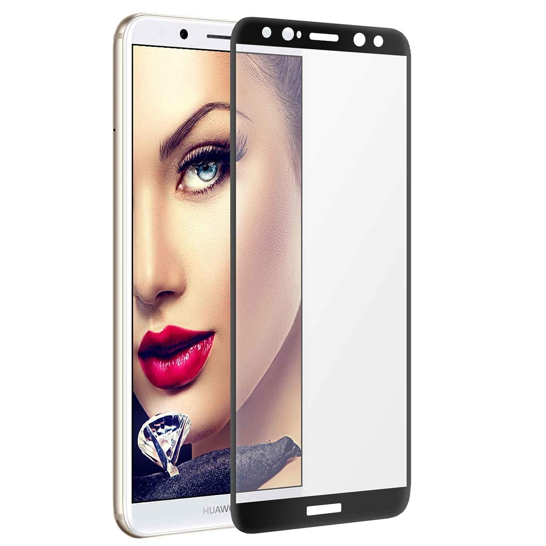 Full Glue 100/% de adhesi/ón 5.9 mtb More Energy/® 5D Protector Curvado de Vidrio Templado para Huawei Mate 10 Lite | Negro Vidrio Redondeado