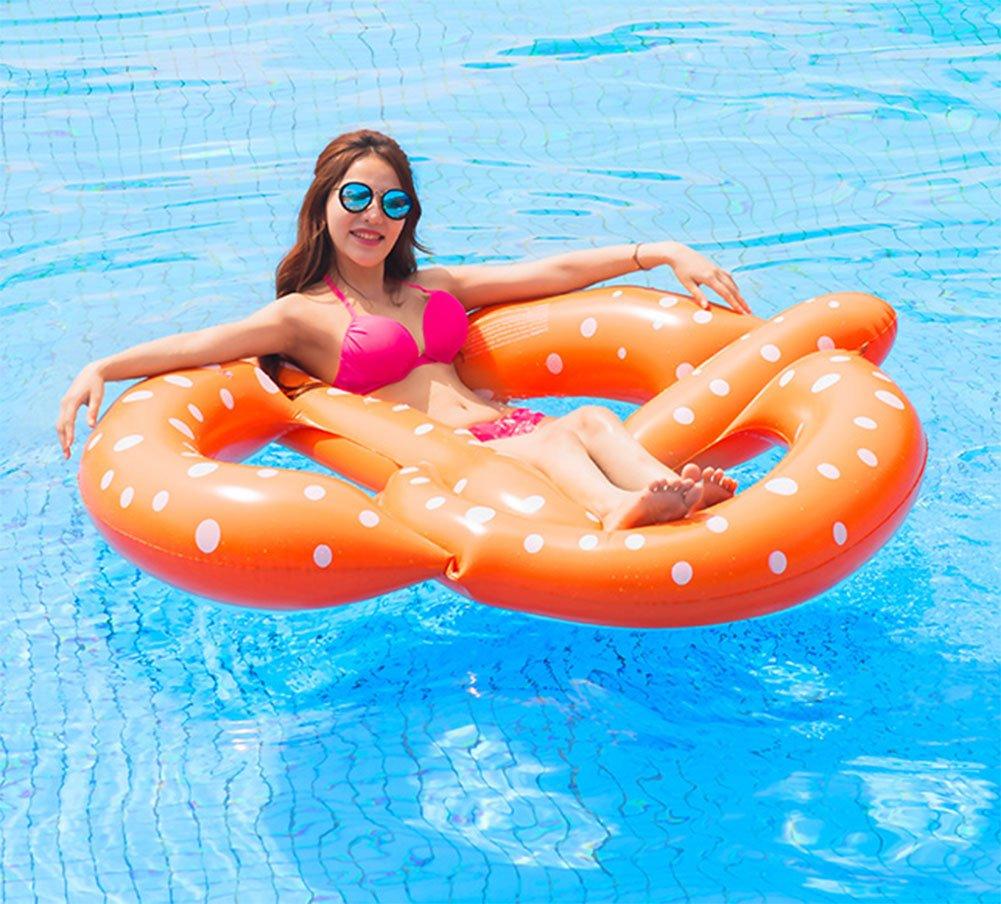 LQY Inflable Fila Flotante De Tres Personas Cama De Agua Lifebuoy Water Swimming Cama Flotante Fila Flotante