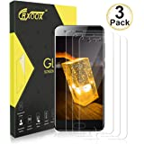 CRXOOX 3 Pack Vetro Temperato Compatibile con Huawei Honor 9 Proteggi Schermo Senza Bolle d'Dria Pellicola in Vetro Facile da Installare Screen Protector per Huawei Honor 9 Trasparente