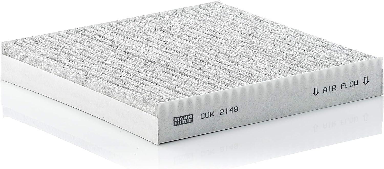 Mann Filter CUK2149 filtro de aire del habitáculo: Amazon.es ...