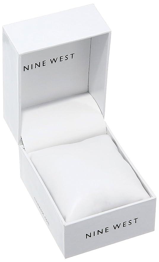 Amazon.com: Nine West Womens NW/1980CHGB Gold-Tone Mesh Bracelet Watch: Watches
