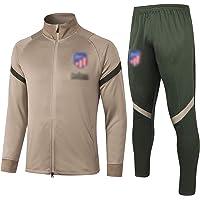 BVNGH Atlético Madrid - Traje de entrenamiento de camiseta de fútbol, manga larga 2021, tejido elástico profesional…