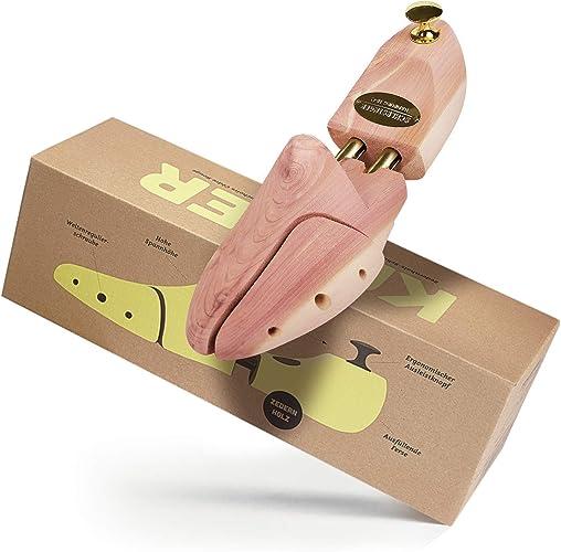 52 couleur argent ou or. Schlesinger Pointures 35 Mod/èle /«/Kaiser//» Embauchoir de marque en bois de c/èdre pr/écieux pour hommes pour un entretien optimal des chaussures