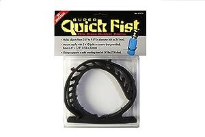 "Super Quick Fist Clamp for mounting tools & equipment 2-1/2"" - 9-1/2"" diameter"