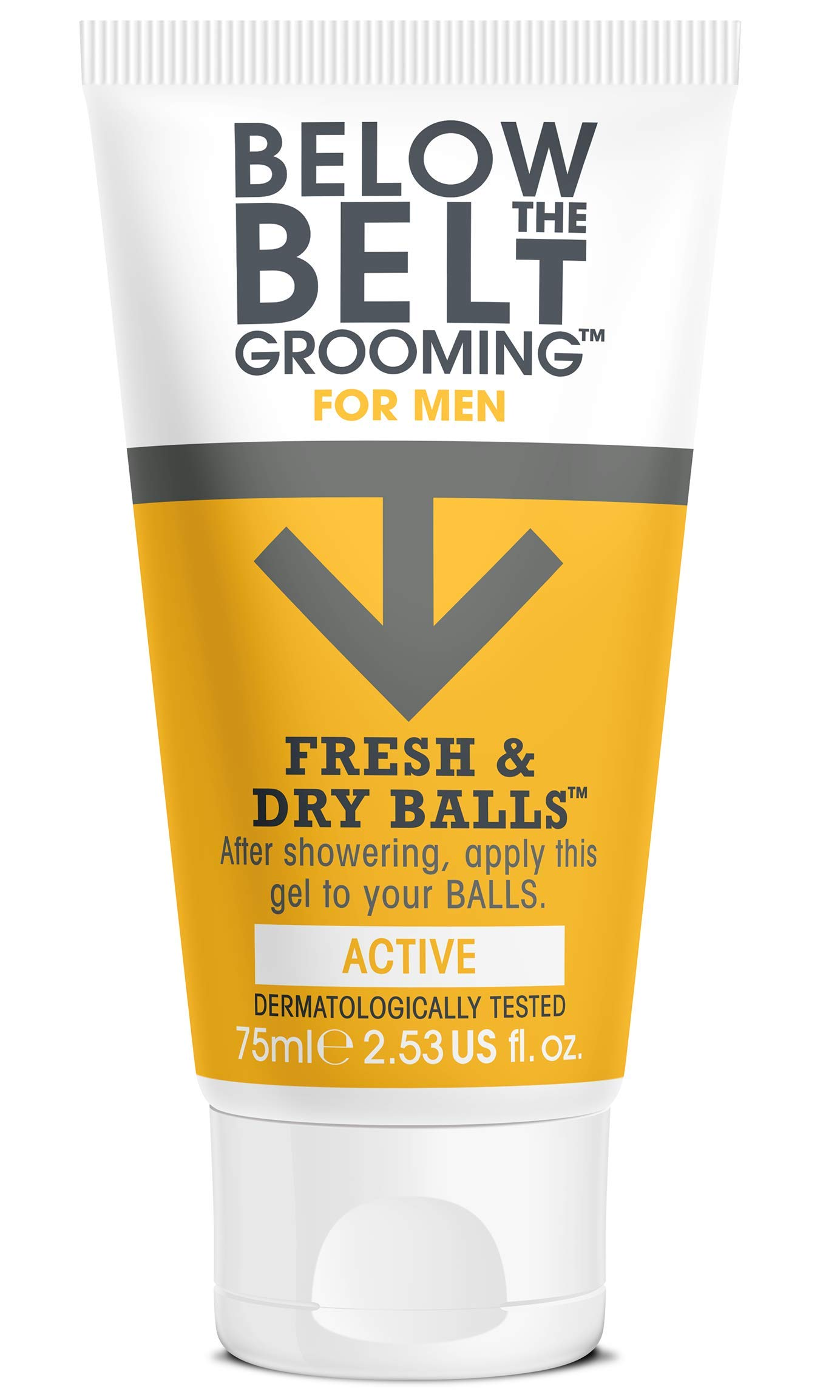 Below the Belt Fresh and Dry Balls, 75 ml, Active