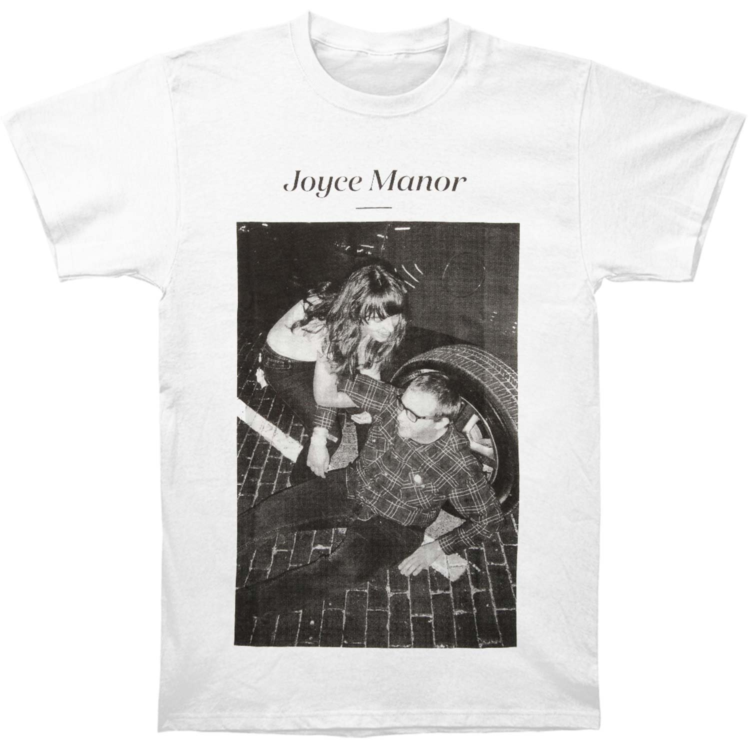 Amazon.com: Rockabilia Joyce Manor Men\'s Matt & Frank T-shirt White ...