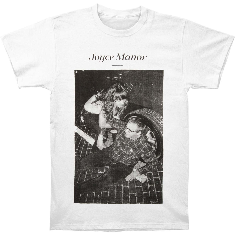 Amazon.com: Rockabilia Joyce Manor Men\'s Matt & Frank T-shirt White ...