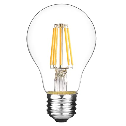 Lytheledtm A19 Dimmable Led 75 Watt Equivalent Led Filament Bulb
