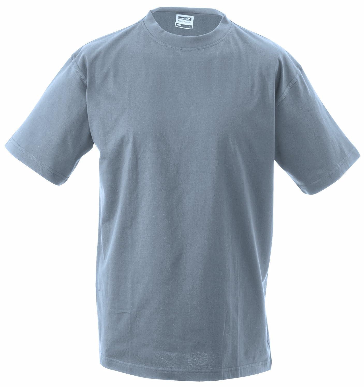 James /& Nicholson Jungen T-Shirt Junior Basic Rundhals