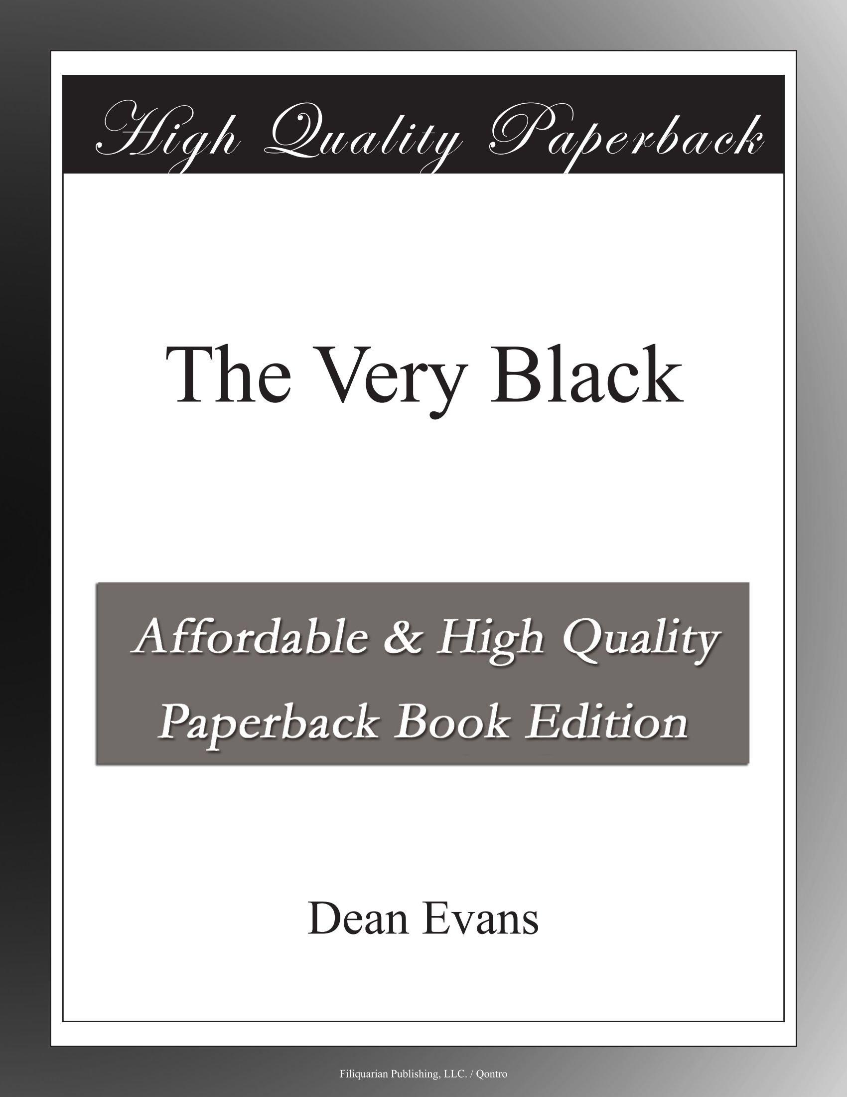 The Very Black pdf epub