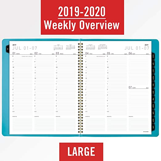 Amazon.com: AT-A-GLANCE 70957X0520 2019-2020 - Agenda ...