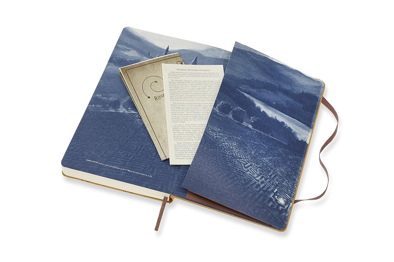 Moleskine DHP12DC3Y19 - Diario 12m de edición limitada Harry Potter, grande, color beige
