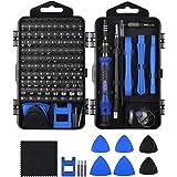 ORIA - Juego de destornilladores de precisión con 101 puntas de destornillador, color azul