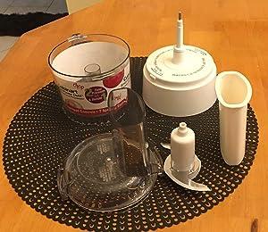 Cuisinart Blender Food Processor Attachment, White