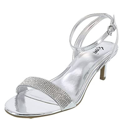 635af715794842 Fioni Silver Women s Honey Low Heel 6 Wide