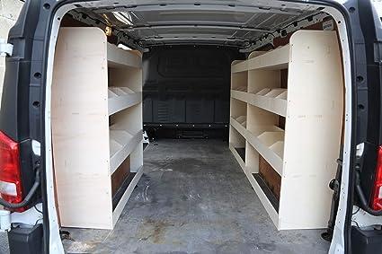 Vanify Citroen Berlingo SWB 2019 estanter/ía de Madera contrachapada Sistema de Almacenamiento NS Estante de Herramientas