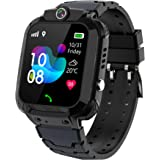 """Kids Smartwatch GPS Tracker Phone - 2020 New Waterproof Children Smart Watches with 1.4"""" Touch Screen SOS Phone Call…"""